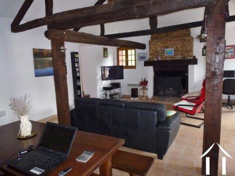 Authentiek huis te koop castillonnes aquitani 9048 - Betegelde ensuite marmeren badkamers ...
