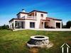 Moderne Villa met groot terrein en prachtig uitzicht op de Pyréneen Ref # MPPOA1870