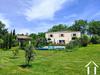 Frans huis met 5 slaapkamers (300m2), met grote tuin (4170m2), zwembad, onafhankelijke gite (24m2) e Ref # MPPOP0092