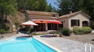 Villa met verwarmd zwembad en uitzichten over de Orb vallei