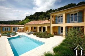 Villa met verwarmd zwembad, gastenkamer en prachtig uitzicht