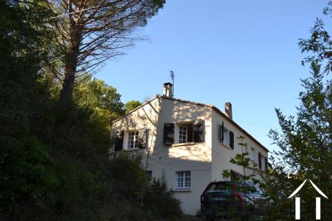 Vrijstaande villa met gastenkamer, bostuin en uitzicht Ref # 11-2260