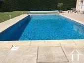 Villa met zwembad en uitzicht nabij fietspad in AOC-streek Ref # 11-2393 foto 7