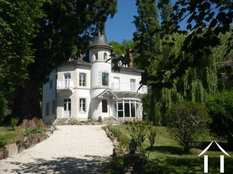 Art Nouveau style house