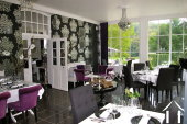 Restaurant, lounge area in coach house of 84m2