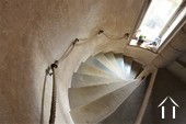 Tower staircase to the cellar