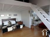 Modern huis met veel daglicht en zwembad. Omgeving Beaune. Ref # CR5036BS foto 7 Chambre en suite+mezzanine