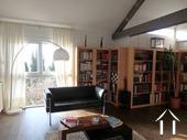 Modern huis met veel daglicht en zwembad. Omgeving Beaune. Ref # CR5036BS foto 15 Mezzanine-Bibliothèque