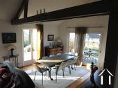 Modern huis met veel daglicht en zwembad. Omgeving Beaune. Ref # CR5036BS foto 5 Salle à manger