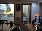 19e eeuws kasteeltje met gîtes en chambres d'hotes Ref # RP5062M foto 6 Terras achter