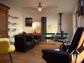 19e eeuws kasteeltje met gîtes en chambres d'hotes Ref # RP5062M foto 7 De lounge