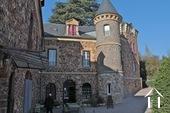 19e eeuws kasteeltje met gîtes en chambres d'hotes Ref # RP5062M foto 2 Terras voor