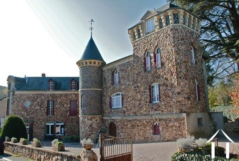 19e eeuws kasteeltje met gîtes en chambres d'hotes Ref # RP5062M Hoofd foto Ger Haubtbild