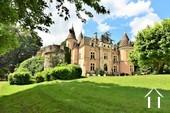 13 tot 19de eeuw kasteel, op 15 hectare, zuid bourgogne Ref # JP5016S foto 6