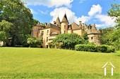 13 tot 19de eeuw kasteel, op 15 hectare, zuid bourgogne Ref # JP5016S foto 5
