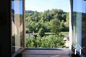 Gezellig huis in de Haute Cotes de Nuits Ref # CR5105BS foto 8 View from bedroom