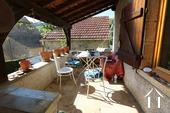 Gezellig huis in de Haute Cotes de Nuits Ref # CR5105BS foto 5 Terrace