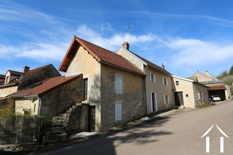 Typisch Bourgondisch huis met zicht op wijngaarden. Ref # CR5024BS