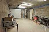 integrated garage with electric door