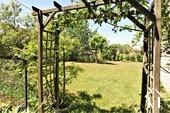 entrance to the back garden