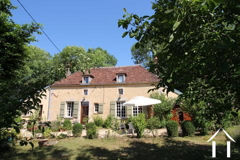 Prachtige cottage in de omgeving van Puisaye Ref # LB5031N