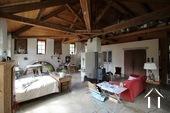 Verbouwd 19e eeuws landhuis, 3 suites, Cote Roannaise Ref # BH4979H foto 5 Studio boven