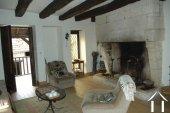 Lieflijk Dorpshuis, binnenplaats en te restaureren schuur.   Ref # GVS4849C foto 9