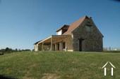 Prachtig recent stenen huis met uitzicht op eigen 4.5 ha Ref # GVS4840C foto 1