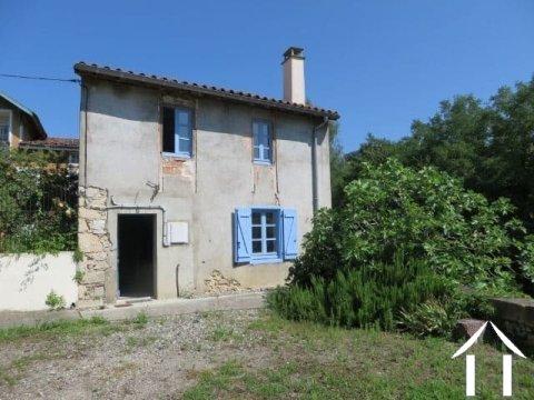 Heel charmant dorpshuis met 160m2  en de mogelijkheid voor een prachtige binnen cour. Ref # MP6086
