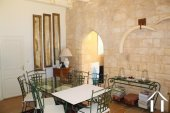 """Prachtig gerenoveerd 11e eeuws domein 'en pierre"""", met chambres d'hôtes en gites, zwembad en een fenomenaal uitzicht met 3.4ha Ref # MPLS1004 foto 28"""
