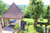 """Prachtig gerenoveerd 11e eeuws domein 'en pierre"""", met chambres d'hôtes en gites, zwembad en een fenomenaal uitzicht met 3.4ha Ref # MPLS1004 foto 18"""
