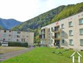 Mooi appartement met prachtig uitzicht op de bergen op het zuiden gelegen in een bergdorp