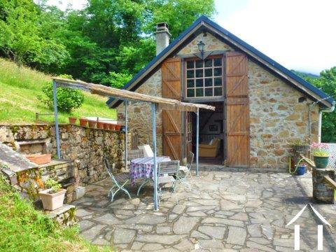 Berghuis met een schur en tuin Ref # MPDK047