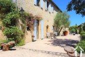 """Prachtig gerenoveerd 11e eeuws domein 'en pierre"""", met chambres d'hôtes en gites, zwembad en een fenomenaal uitzicht met 3.4ha Ref # MPLS1004 foto 19"""