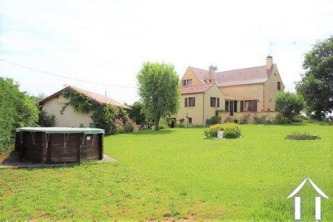 Mooi huis van traditionele bouw met 1800 m2 tuin. Ref # MPLS1005 Hoofd foto Ger Haubtbild