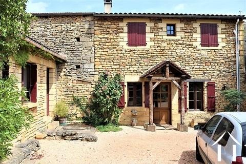 Imposant huis en pierre met chambres d'hôtes plus 2 gites Ref # MPLS1013 Hoofd foto Ger Haubtbild
