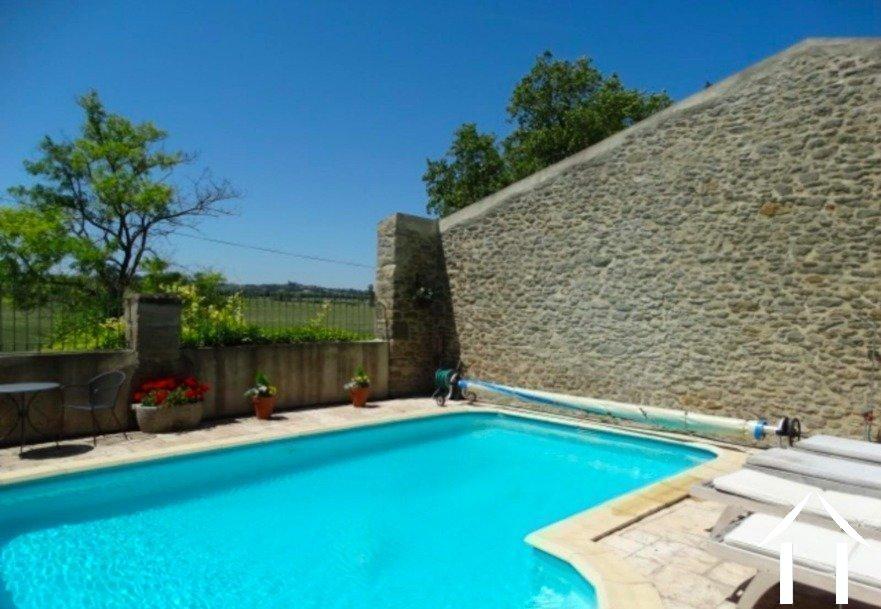 Mooi stenen huis met zwembad en uitzicht Ref # MPOP0057 foto 28