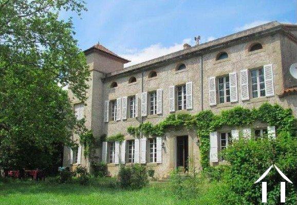 19e eeuws herenhuis bij Carcassonne   Ref # MPOP0064 Hoofd foto Ger Haubtbild